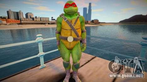 Ninja Turtles - Raphael para GTA San Andreas