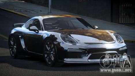 Porsche 718 Cayman GT4 S1 para GTA 4
