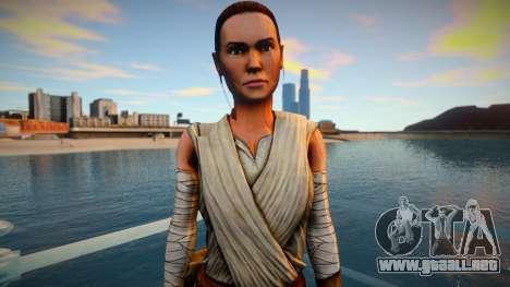 Rey From Star Wars - The Force Awakens para GTA San Andreas