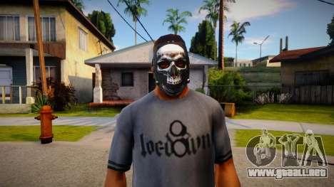 Máscara con calavera para GTA San Andreas