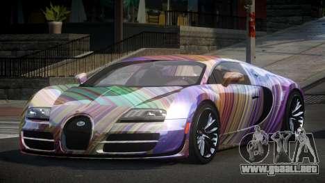 Bugatti Veyron PSI-R S4 para GTA 4