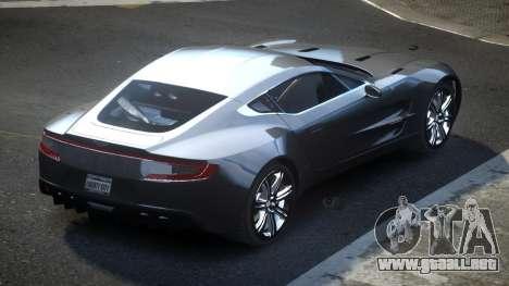 Aston Martin BS One-77 para GTA 4