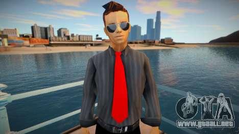 Claude Speed New Suit Combine para GTA San Andreas