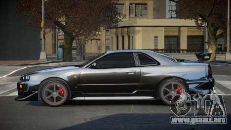 Nissan Skyline R34 PSI-S para GTA 4