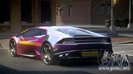 Lamborghini Huracan LP610 S8 para GTA 4