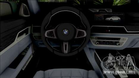 BMW 750 Li para GTA San Andreas