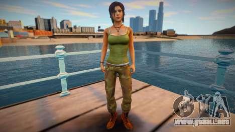 TOMB RAIDER: Lara Croft para GTA San Andreas