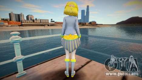 Neptunia Virtual Stars GTA SA skin v1 para GTA San Andreas