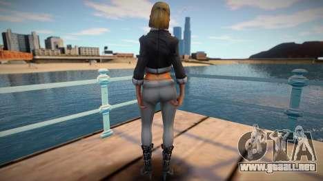 Girl Saints Row 3 style para GTA San Andreas