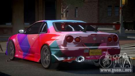 Nissan Skyline R34 PSI-S S4 para GTA 4