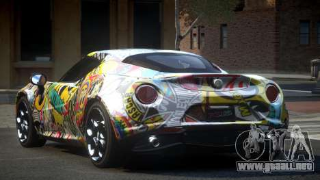 Alfa Romeo 4C U-Style S8 para GTA 4