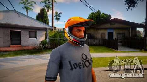 Casco de motocicleta para GTA San Andreas