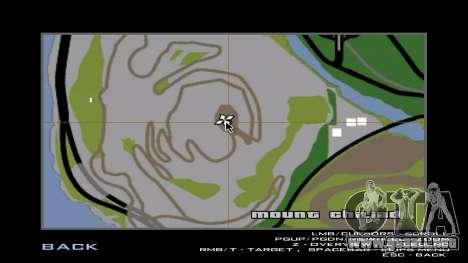La protuberancia (nueva textura) para GTA San Andreas