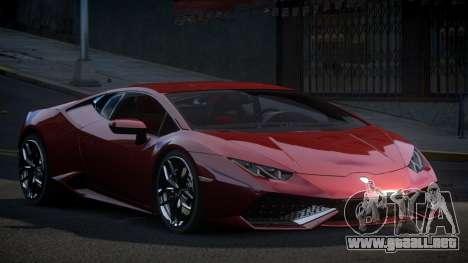 Lamborghini Huracan GST para GTA 4