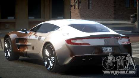 Aston Martin BS One-77 S2 para GTA 4