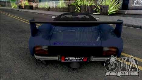 Jaguar XJ220S 1994 para GTA San Andreas