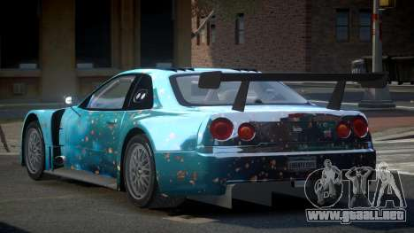 Nissan Skyline R34 US S3 para GTA 4