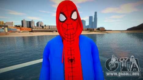 Spiderman Sportwear para GTA San Andreas