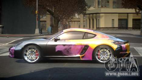 Porsche 718 U-Style S4 para GTA 4