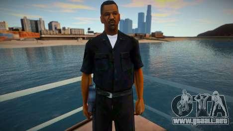 New C.R.A.S.H Police Officer para GTA San Andreas
