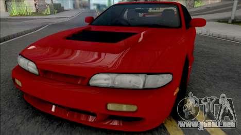 Nissan Silvia S14 04 Works para GTA San Andreas