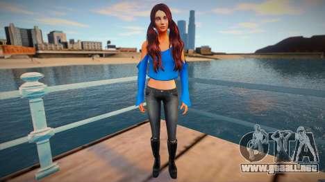 Female Sims 4 para GTA San Andreas