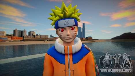 Naruto Kyuubi Chakra para GTA San Andreas