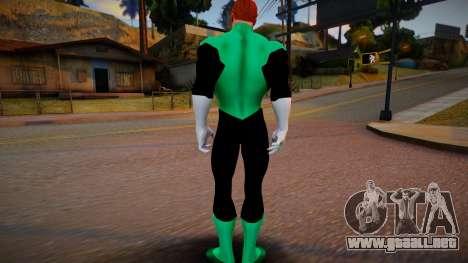 Green Lantern DC Universe para GTA San Andreas