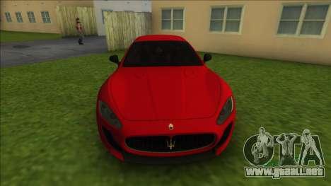 Maserati Gran Tourismo para GTA Vice City