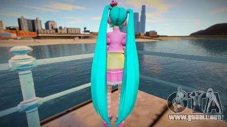 PDFT Hatsune Miku Princess para GTA San Andreas