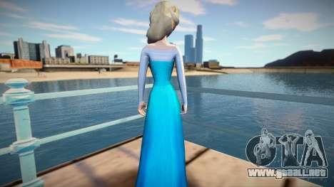 Elsa Frozen para GTA San Andreas