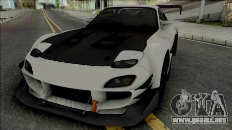 Mazda RX-7 Tuning para GTA San Andreas