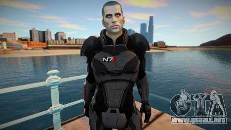 Comandante Shepard para GTA San Andreas