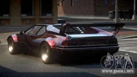 BMW M1 IRS S6 para GTA 4