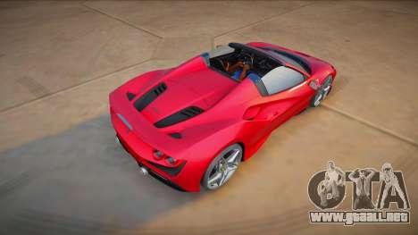 Ferrari F8 Spider 2021 (good model) para GTA San Andreas