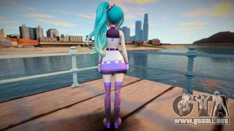 Neptunia Virtual Stars GTA SA skin v2 para GTA San Andreas