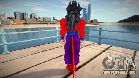 Gohan SSJ4 from Dragon Ball para GTA San Andreas