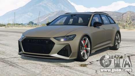 Audi RS 6 Avant (C8) 2019〡add-on v2.0