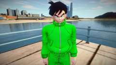 Gohan sportswear from Dragon Ball Xenoverse 2 para GTA San Andreas