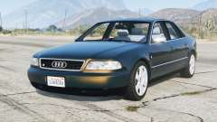Audi S8 (D2) 1996 v1.4 para GTA 5