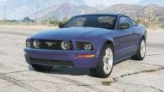 Ford Mustang GT 2005〡grey llantas〡add-on para GTA 5