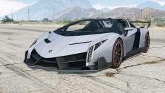 Lamborghini Veneno Roadster 2014〡add-on para GTA 5