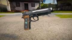 RE2: Remake - Samurai Edge Colt v3 para GTA San Andreas