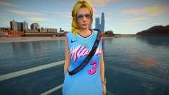 DOA Helena Douglas Fashion Casual V3 Miami Heat para GTA San Andreas