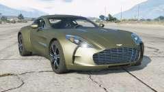 Aston Martin One-77 2010 v2.0 para GTA 5
