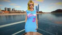 DOA Helena Douglas Fashion Casual V2 Miami Heat para GTA San Andreas