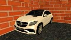 Mercedes-Benz GLE 63 AMG RUS Plates