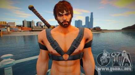 Shaheen skin para GTA San Andreas