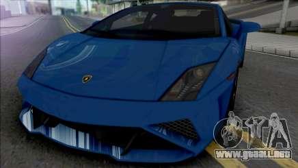 Lamborghini Gallardo LP560-4 (SA Light) para GTA San Andreas