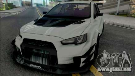 Mitsubishi Lancer Evolution X (SA Lights) para GTA San Andreas
